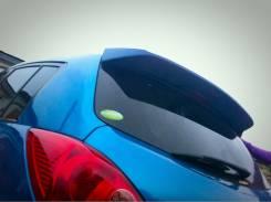 Спойлер. Nissan Tiida