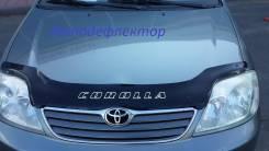 Дефлектор капота. Toyota Corolla, 16, 10