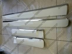 Накладки на двери (молдинги) Prado 150 ( Lexus GX 460 Style цвет 070 ). Lexus GX460, URJ150, SUV Toyota Land Cruiser Prado, GDJ150W, GDJ151W, KDJ150L...