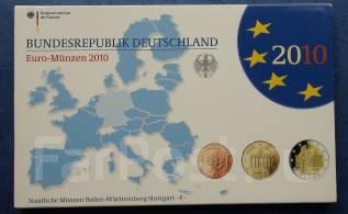 2010 Германия. Годовой набор (F). ПРУФ