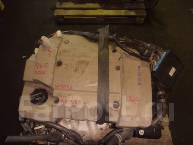 Контрактный б/у двигатель + кпп Mitsubishi 4G64GDI