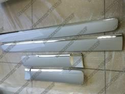 Накладки на двери (молдинги) Prado 150 ( Lexus GX 460 Style цвет 1F7 ). Lexus GX460, URJ150, SUV Toyota Land Cruiser Prado, GDJ150W, GDJ151W, KDJ150L...