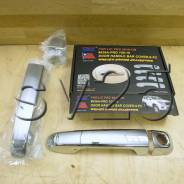 Накладки на дверные ручки Land Cruiser PRADO 150, 2010г. хром. 636A-FJ150-10