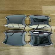 Накладки на дверные ручки Land Cruiser PRADO 150, 2010г. вставки 636B-FJ150-10UNC