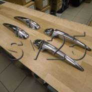 Накладки на дверные ручки Toyota RAV4 2013г. хром. #636A2-RV4-13