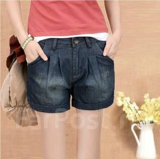 Шорты джинсовые. 56