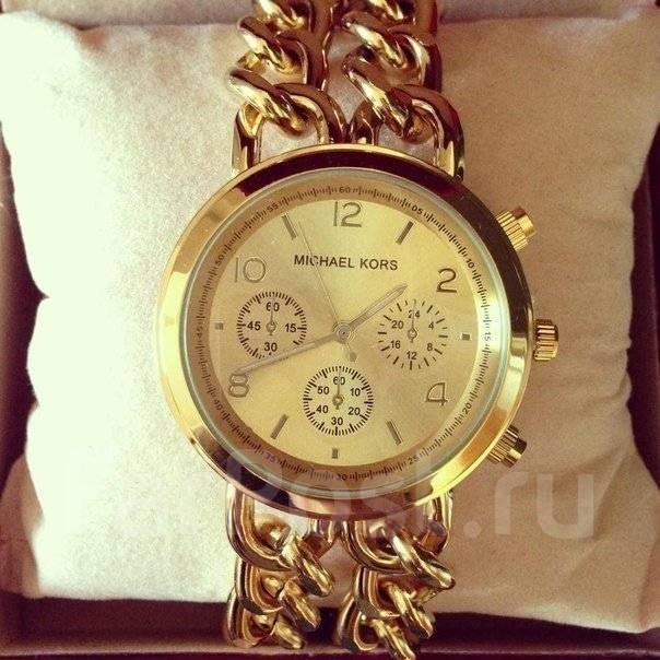 Часы женские с браслетом цепью