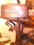 Tohatsu. 5,00л.с., 2х тактный, бензин, нога L (508 мм), Год: 2001 год