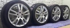 Оригинальные разноширокие Mercedes-Benz R18 5*112 на летней резине. 8.5/9.5x18 5x112.00 ET35/40 ЦО 66,5мм.