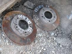 Диск тормозной. Nissan Cedric, Y31 Двигатель VG20E