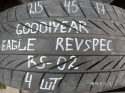 Goodyear Eagle Revspec RS-02. Летние, износ: 5%, 4 шт