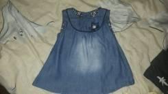 Платья джинсовые. Рост: 50-60 см