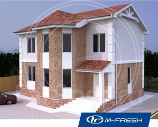 M-fresh Success (Посмотрите проект 2-этажного дома с эркером! ). 200-300 кв. м., 2 этажа, 4 комнаты, бетон