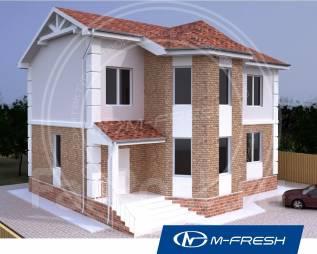 M-fresh Success-зеркальный (Купите у нас этот проект со скидкой 20%! ). 200-300 кв. м., 2 этажа, 4 комнаты, бетон