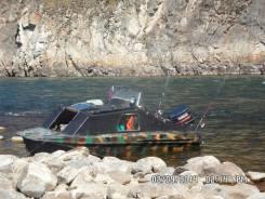 Казанка-5М3. Год: 1993 год, длина 5,40м., двигатель подвесной, 55,00л.с., бензин