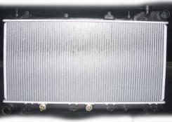 Subaru Impreza радиатор охлаждения и радиатор кондиционера. Subaru Impreza Subaru Forester