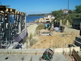Строительство дома из блока, бетонные работы, отделочные работы