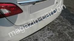 Накладка на бампер. Nissan Sylphy