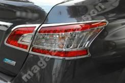 Накладки на оптику Nissan Sylphy/Sentra 2013-2015. Nissan Sentra, B17 Nissan Sylphy Двигатель HR16DE