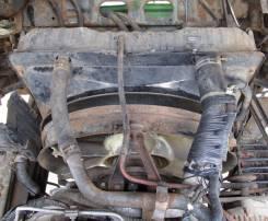 Радиатор охлаждения двигателя. Isuzu Giga, PCXG19X2007809 Двигатель 10PC1