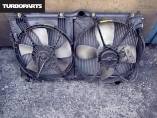 Радиатор охлаждения двигателя. Mitsubishi GTO, Z15A, Z16A Двигатель 6G72