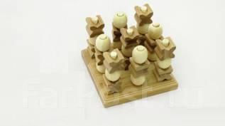 Крестики-нолики 3D (бамбук). ECO Game.