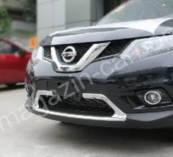 Молдинг на бампер. Nissan X-Trail