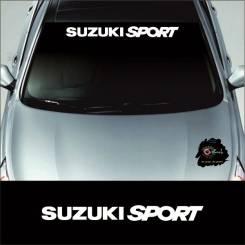 Наклейка на козырек Suzuki Sport
