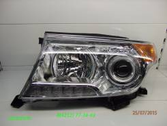 Фара. Toyota Land Cruiser, URJ200, URJ202, URJ202W, VDJ200, UZJ200, UZJ200W Двигатели: 1URFE, 1VDFTV, 3URFE