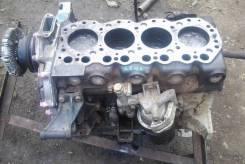 Блок цилиндров. Nissan Atlas Двигатель TD23