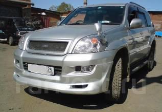 Обвес кузова аэродинамический. Subaru Bistro Toyota Land Cruiser Prado. Под заказ
