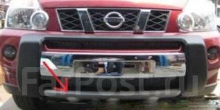 Накладка на бампер. Nissan X-Trail, DNT31, NT31, T31, T31R, TNT31. Под заказ