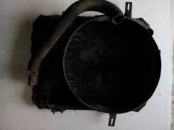 Радиатор охлаждения двигателя. Mitsubishi Canter Двигатель FD35