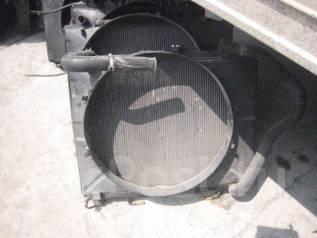 Радиатор охлаждения двигателя. Mitsubishi Pajero, V63W Двигатель 6G72