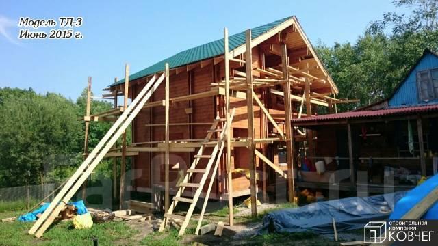 Строительство домов и бань из двойного бруса.