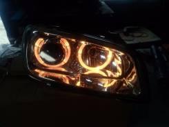 Фары тюнинг ( линза , ангельские глазки ) Toyota Rav4. Toyota RAV4, SXA15G, SXA16G, SXA11G, SXA11W, SXA10G, SXA10W