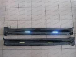 Пороги на Land cruiser 200 / lc200 с подсветкой. Toyota Land Cruiser, GRJ200, J200, URJ200, UZJ200, UZJ200W, VDJ200