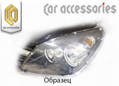 Защита фар прозрачная Honda StepWagon, RF3-RF8, 2002-2004 (арт. 459)