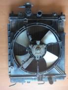 Радиатор охлаждения двигателя. Nissan March, K11 Двигатель CG10DE