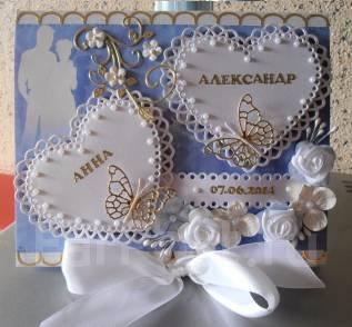 Открытка - конверт свадебный - ручная работа vlcard. Под заказ