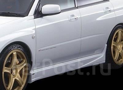 Порог пластиковый. Subaru Impreza WRX STI