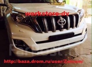 Обвес кузова аэродинамический. Subaru Bistro Toyota Land Cruiser Prado, TRJ12, GDJ151W, TRJ150W, GDJ150L, KDJ150L, GRJ151W, GRJ150W, GRJ150L, GDJ150W...
