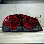 Стоп-сигналы Honda CIVIC 2006 светодиодные, smoke HD-518-B7DE4