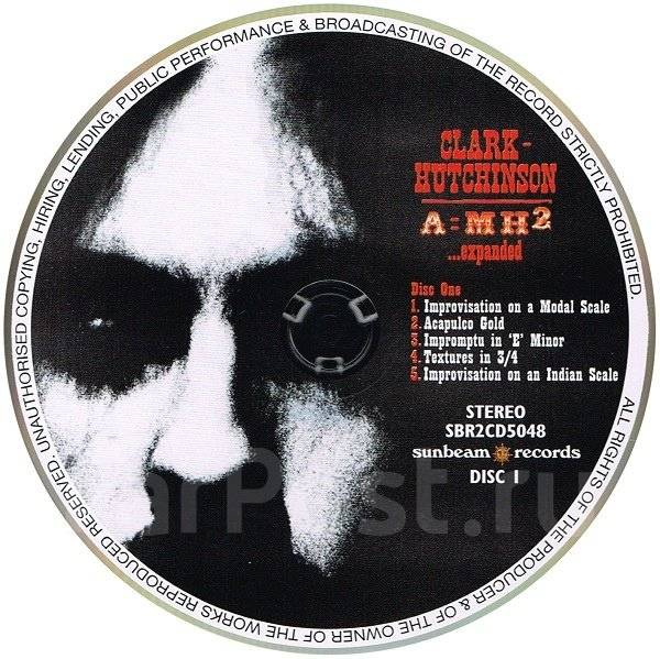 "Винил Clark - Hutchinson ""A=MH2"" 1969 (LP + 2CD, with booklet) England"