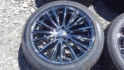 Эксклюзивные колеса R20 Rays Versus в черном хроме. 8.5x20 5x114.30 ET45