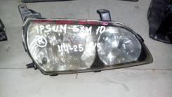 Фара. Toyota Ipsum, SXM10 Двигатель 3SFE