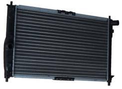 Радиатор охлаждения и кондиционера на Ланос. Chevrolet Lanos