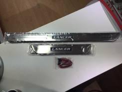 Порог пластиковый. Mitsubishi Lancer. Под заказ