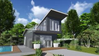 """Проект дома из СИП панелей """"Симпл"""". до 100 кв. м., 2 этажа, 3 комнаты, панели"""