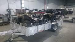 Прицеп ALUMA 8113, 2013. Прицеп Aluma 2х местный для квадроцикла (ATV), снегохода (Америка), 657 кг.